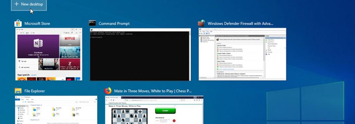 Windows 10: Έτσι θα έχετε πολλαπλές επιφάνειες εργασίας για απόλυτο multitasking