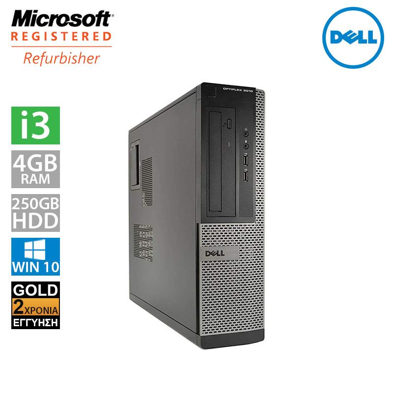 Dell Optiplex 3010 DT (i3 3240/4GB/250GB HDD)