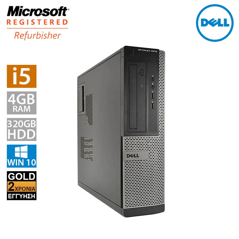 Dell Optiplex 3010 DT (i5 3470/4GB/320GB HDD)