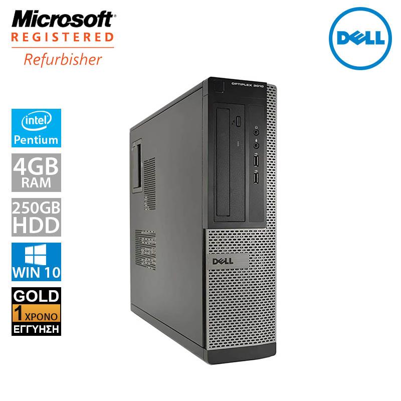 Dell Optiplex 3010 DT (Pentium G2130/4GB/250GB HDD)