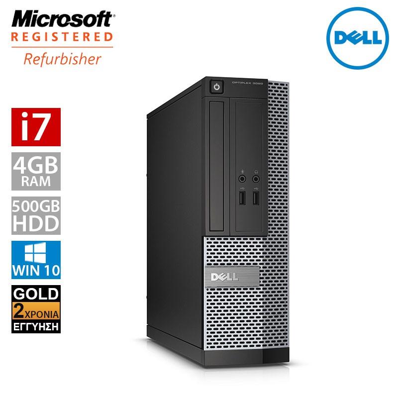 Dell Optiplex 3020 SFF (i7 4770/4GB/500GB HDD)