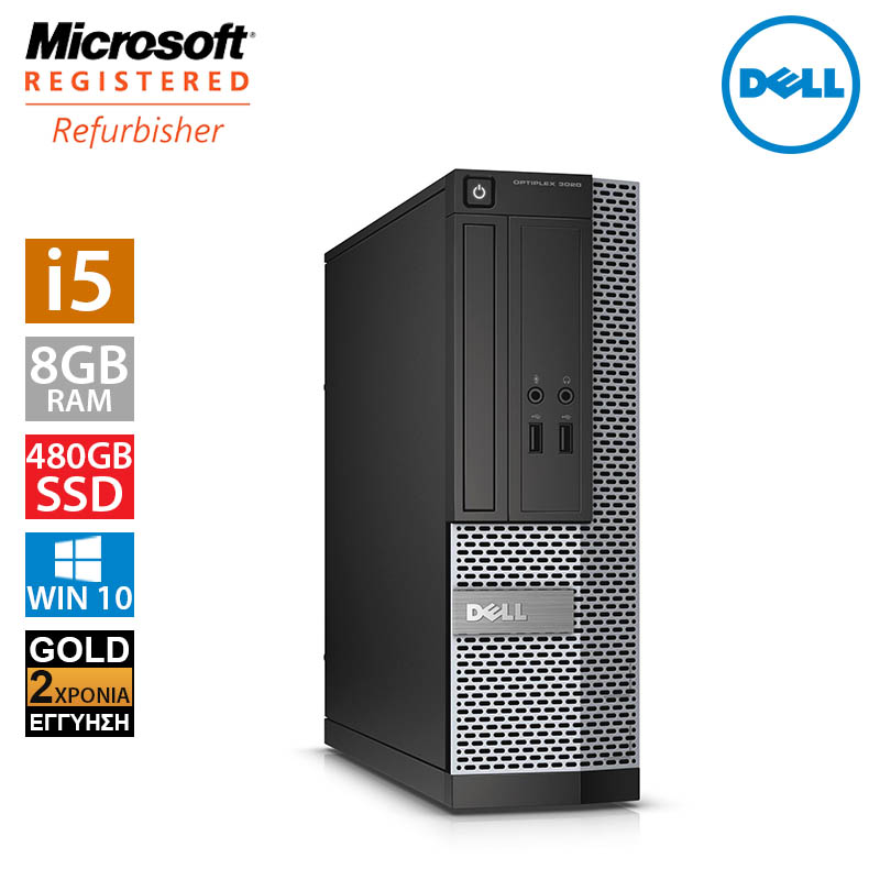 Dell Optiplex 3020 SFF (i5 4590/8GB/480GB SSD)