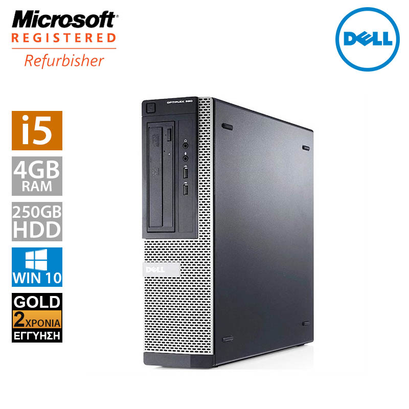 Dell Optiplex 390 DT (i5 2400/4GB/250GB HDD)