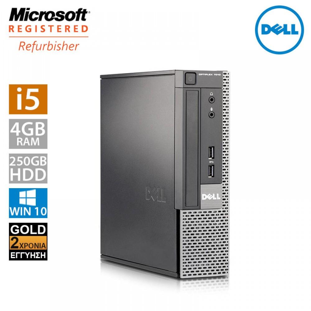 Dell Optiplex 7010 USFF (i5 3470s/4GB/250GB HDD)