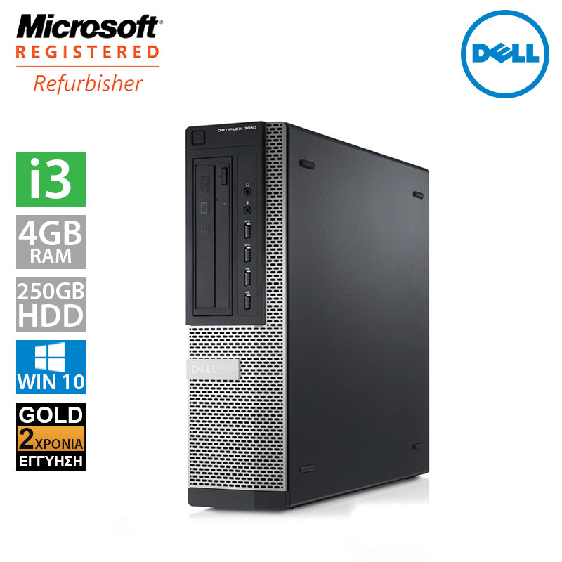 Dell Optiplex 790 DT (i3 2100/4GB/250GB HDD)