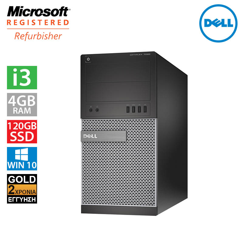 Dell Optiplex 7020 MT (i3 4150/4GB/120GB SSD + 500GB HDD)