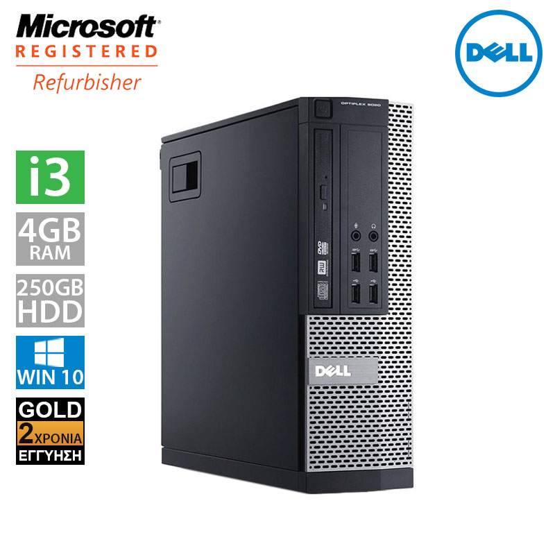 Dell Optiplex 790 SFF (i3 2100/4GB/250GB HDD)