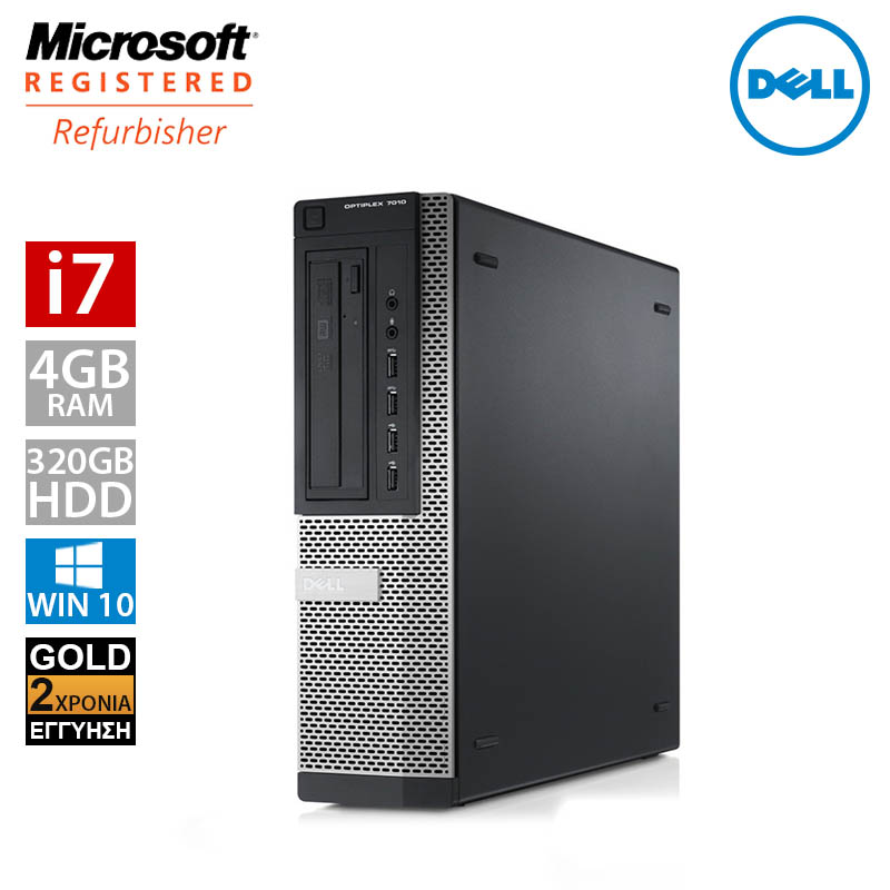 Dell Optiplex 790 Desktop (i7 2600/4GB/320GB HDD)