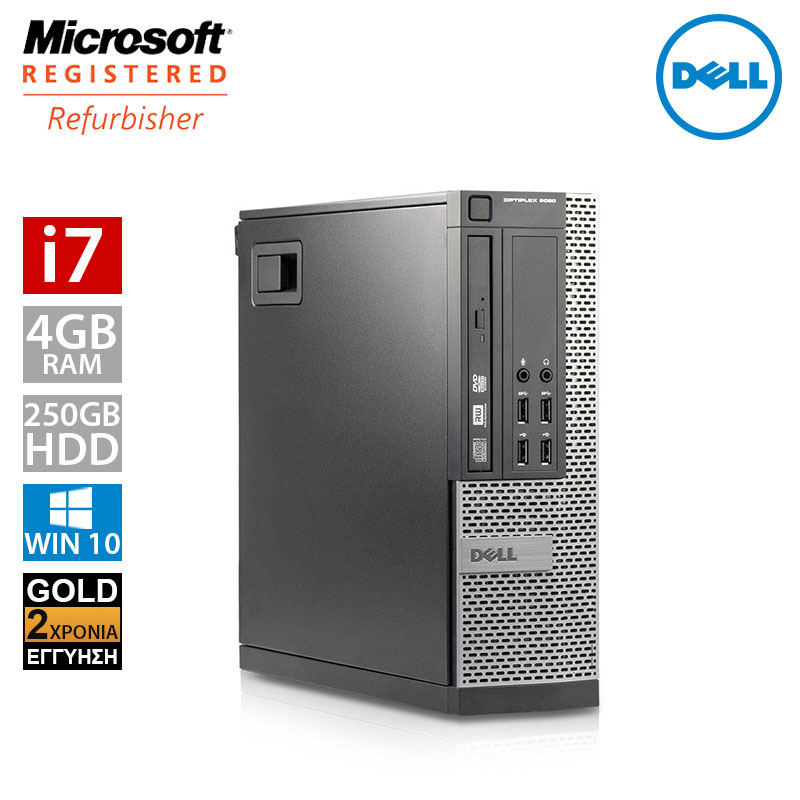Dell Optiplex 9010 SFF (i7 3770/4GB/250GB HDD)