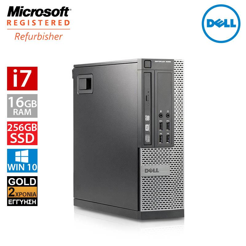Dell Optiplex 9020 SFF (i7 4790/16GB/256GB SSD)