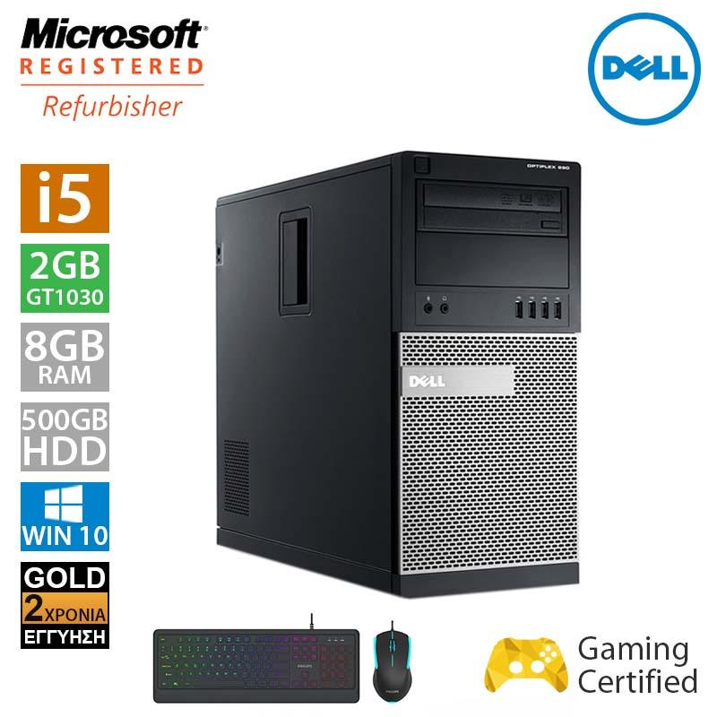Dell Optiplex 990 MT (i5 2500/8GB/500GB HDD/GT1030 2GB/Philips Set Gaming)