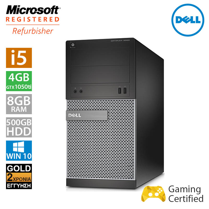 Dell Optiplex 3020 MT (i5 4570/8GB/500GB HDD/GTX 1050Ti 4GB)