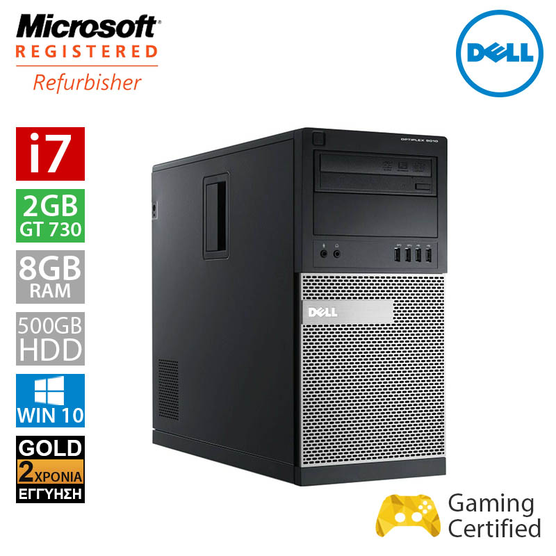 Dell Optiplex 9010 MT (i7 3770/8GB/500GB HDD/GT 730 2GB)