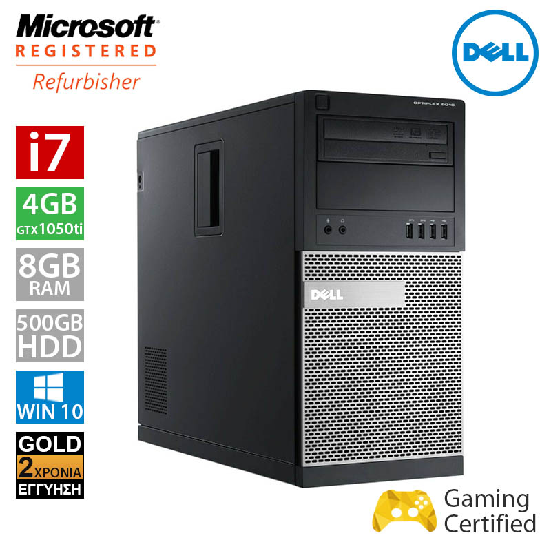 Dell Optiplex 9010 MT (i7 3770/8GB/500GB HDD/GTX 1050Ti 4GB)