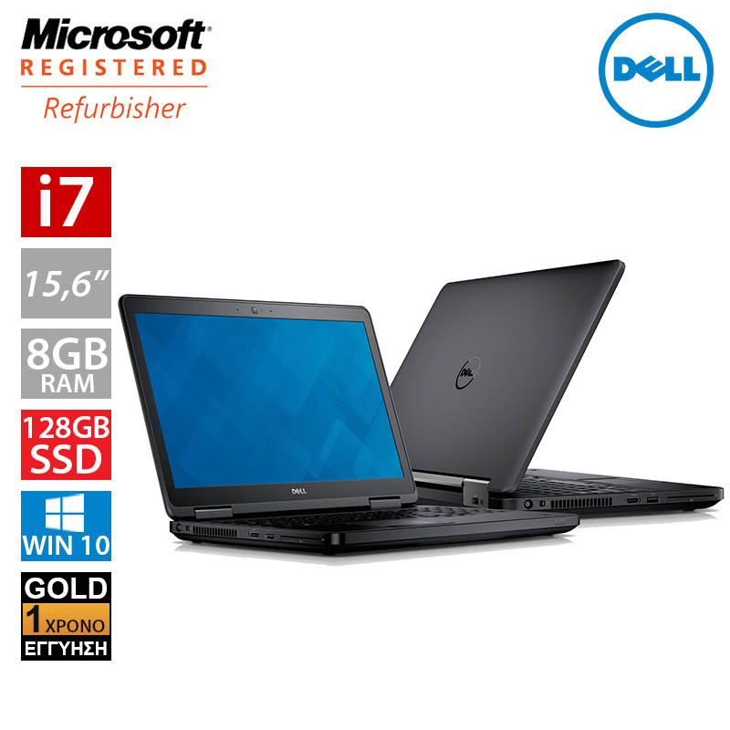 "Dell Latitude E5540 15,6"" (i7 4600U/8GB/128GB SSD)"