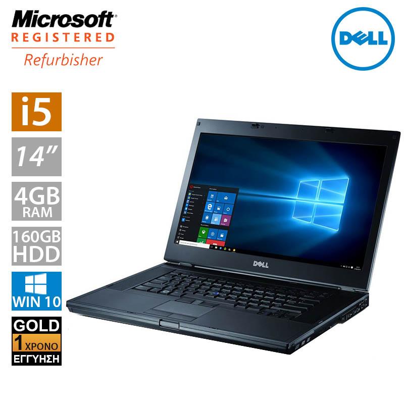 """Dell Latitude E6410 14.1"""" (i5 520M/4GB/160GB HDD) A-"""