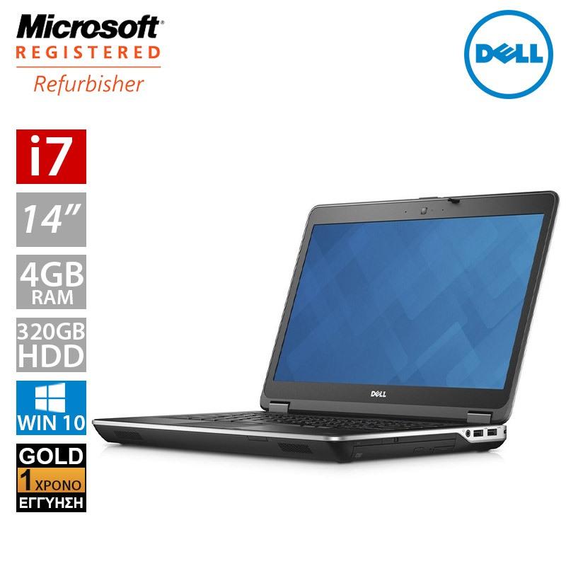 """Dell Latitude E6440 14"""" (i7 4600M/4GB/320GB HDD)"""