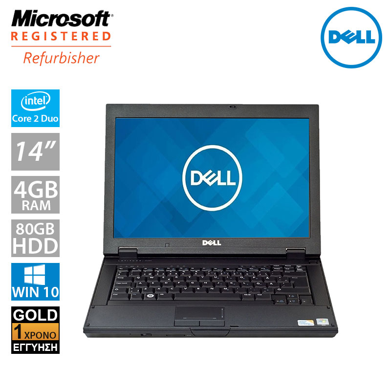 "DELL Latitude E5400 14.1"" (C2D P8700/4GB/80GB HDD)"
