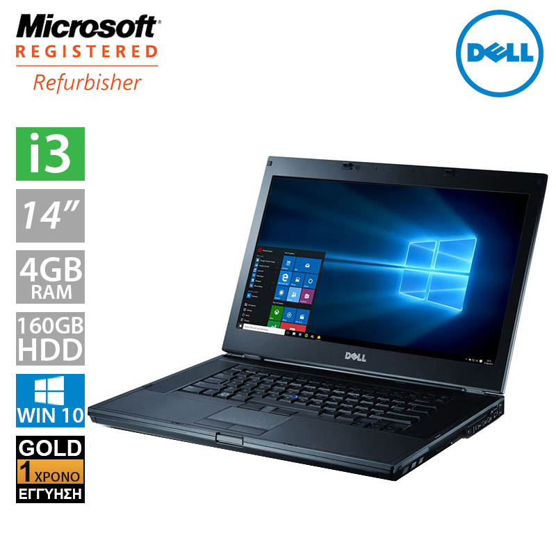 "Dell Latitude E6410 14.1"" (i3 370M/4GB/160GB HDD)"