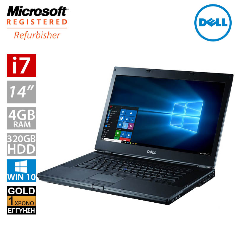 "Dell Latitude E6410 14.1"" (i7 620M/4GB/320GB HDD)"