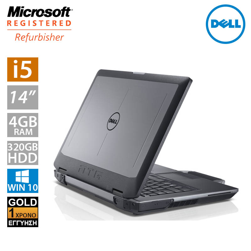 "Dell Latitude E6430 ATG 14"" (i5 3340M/4GB/320GB HDD)"