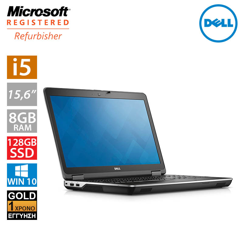 "Dell Latitude E6540 15,6"" (i5 4310M/8GB/128GB SSD)"