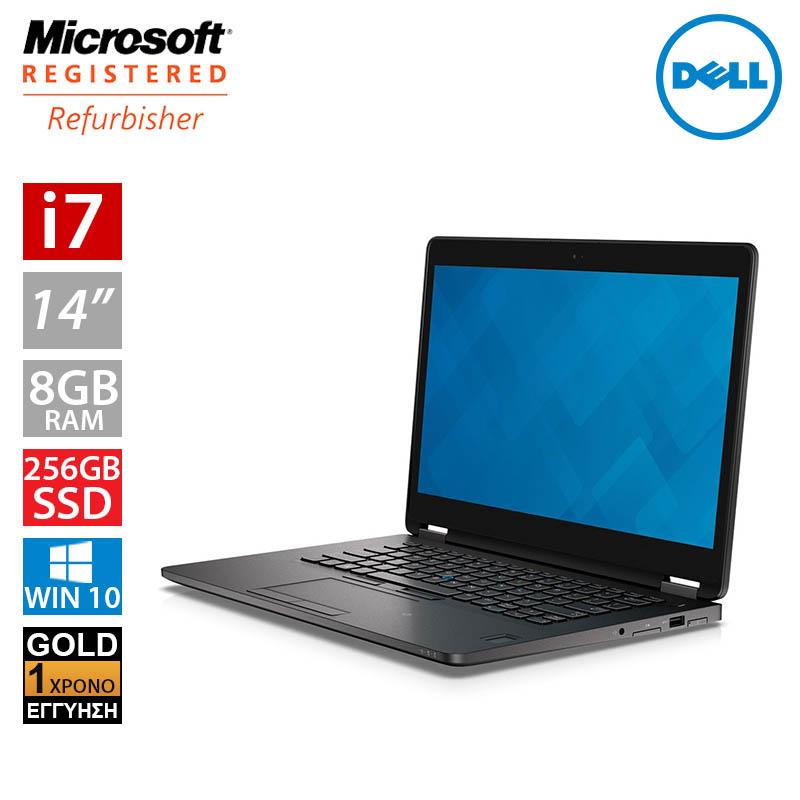 """Dell Latitude E7470 14"""" (i7 6600U/8GB/256GB SSD)"""