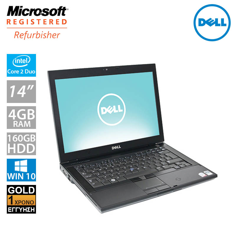 "Dell Latitude E6400 14.1"" (C2D P8600/4GB/160GB HDD)"