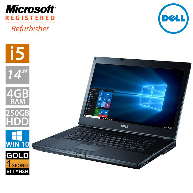 "Dell Latitude E6410 14.1"" (i5 520M/4GB/250GB HDD)"