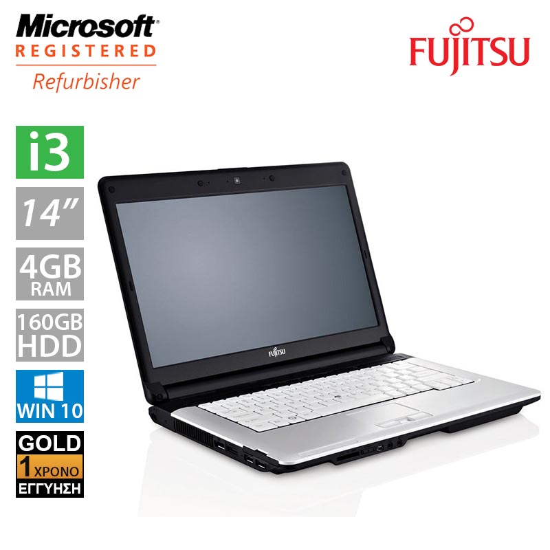 "Fujitsu LifeBook S710 14"" (i3 370M/4GB/160GB HDD/2x Battery)"