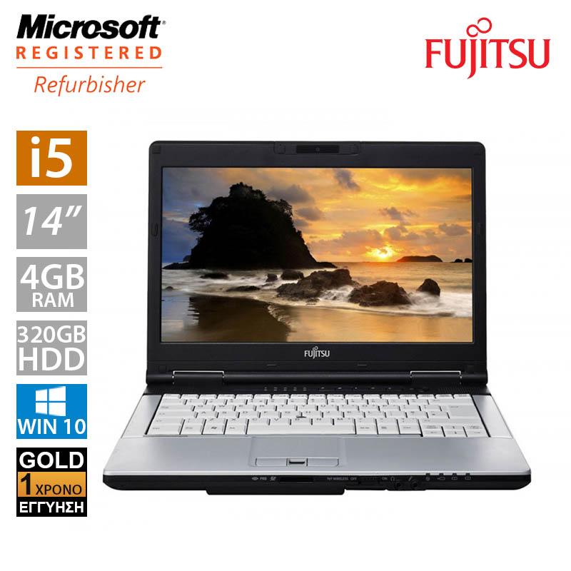 """Fujitsu LifeBook S751 14"""" (i5 2450M/4GB/320GB HDD)"""