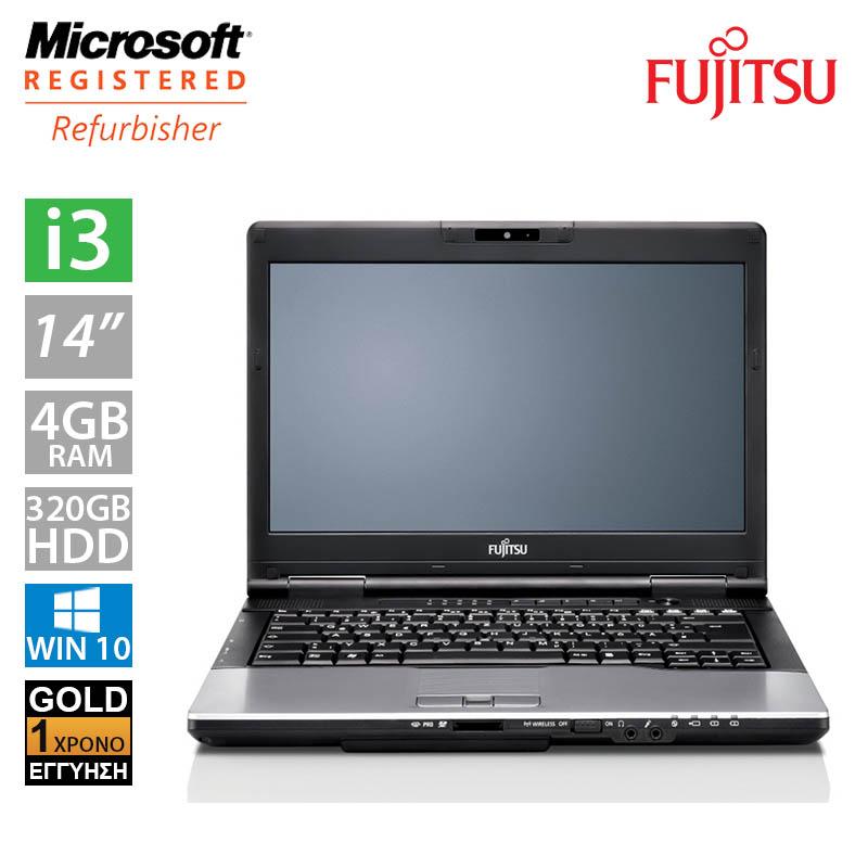 """Fujitsu LifeBook S752 14"""" (i3 2370M/4GB/320GB HDD)"""