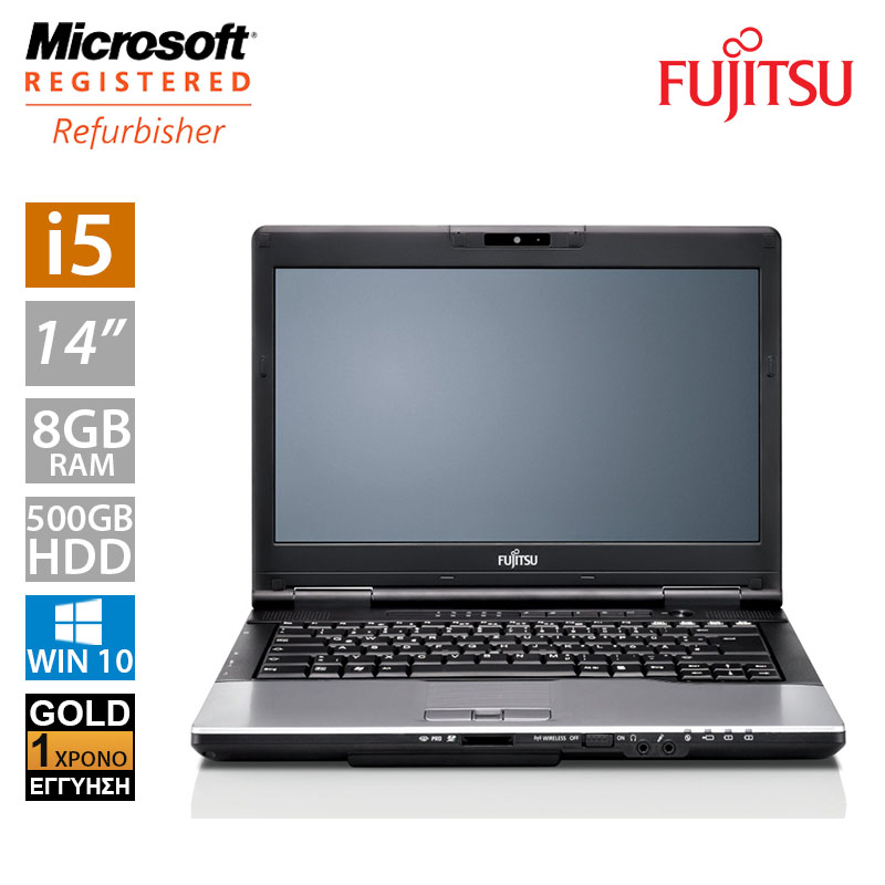 """Fujitsu LifeBook S752 14"""" (i5 3230M/8GB/500GB HDD)"""
