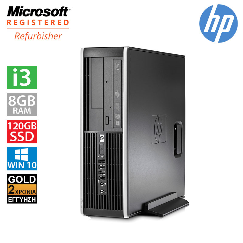 Hp Compaq 6200 Pro SFF (i3 2100/8GB/120GB SSD + 250GB HDD)