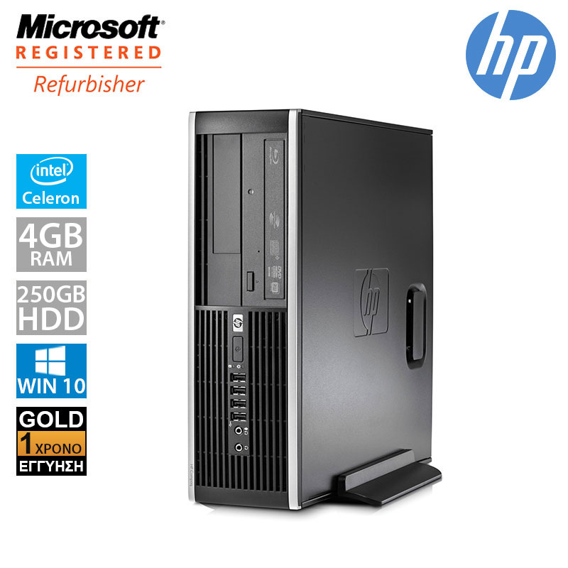 Hp Compaq 6300 Pro SFF (Intel G550/4GB/250GB HDD)
