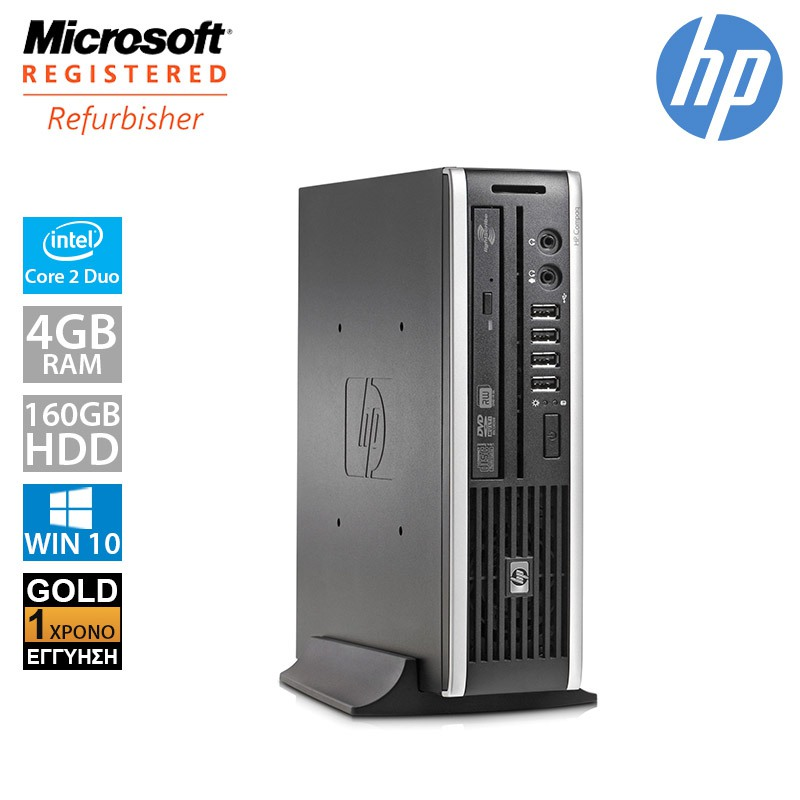 Hp Compaq Elite 8000 USFF (C2D E8400/4GB/160GB HDD)