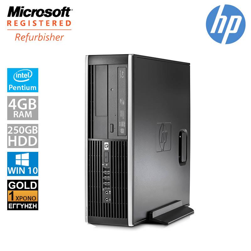 Hp Compaq Elite 8000 SFF (PENTIUM E6500/4GB/250GB HDD)