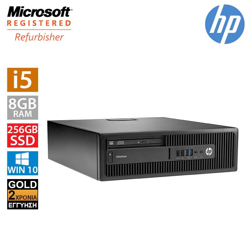Hp EliteDesk 800 G1 SFF (i5 4590/8GB/256GB SSD)