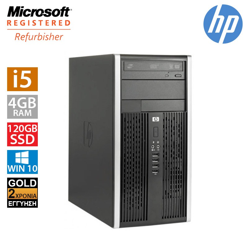 Hp Compaq 8200 MT (i5 2400/4GB/120GB SSD + 500GB HDD)