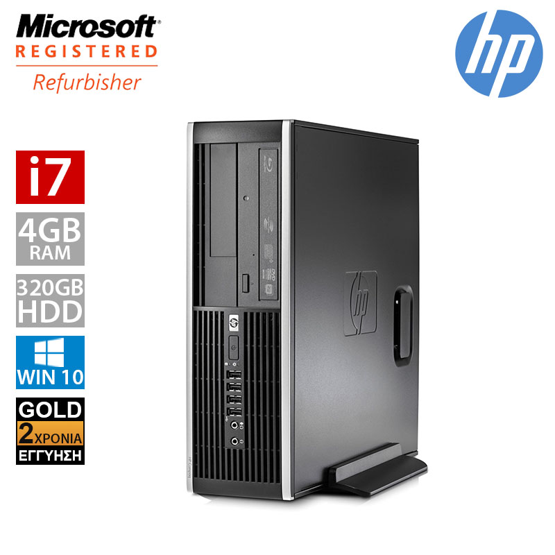 HP Compaq 8200 SFF (i7 2600/4GB/320GB HDD)