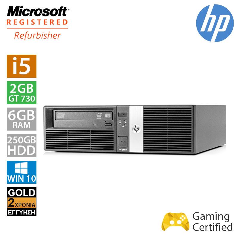 Hp RP5800 SFF (i5 2400/6GB/250GB HDD/GT 730 2GB)