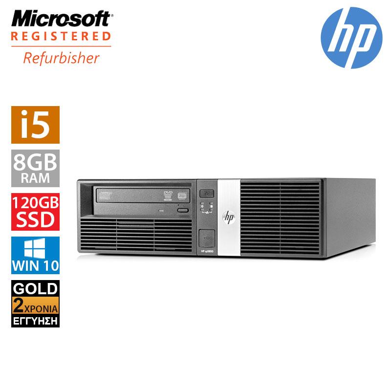 Hp RP5800 SFF (i5 2400/8GB/120GB SSD + 250GB HDD)