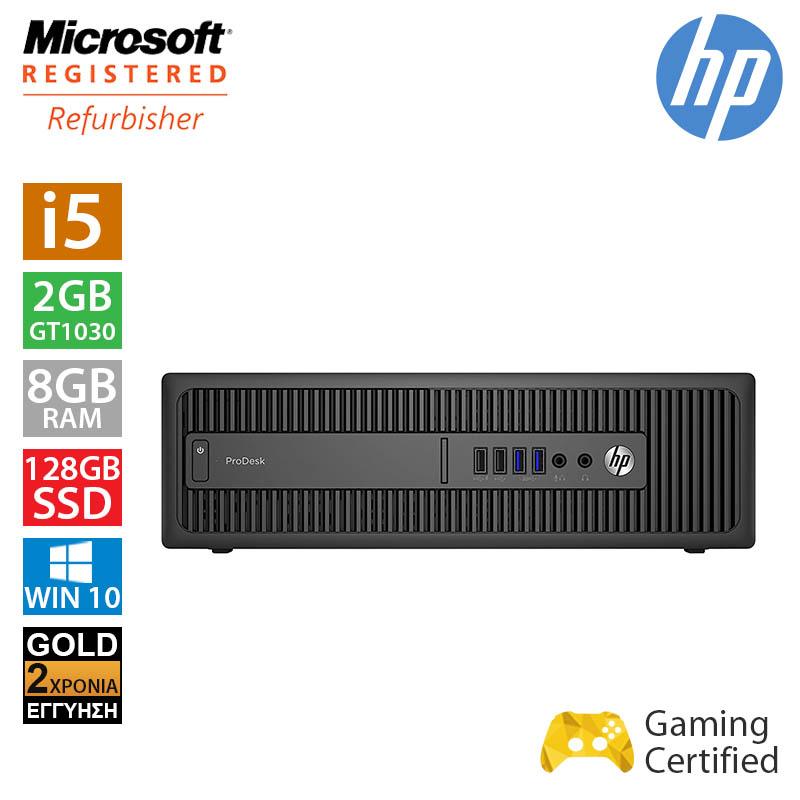 Hp Prodesk 600 G2 SFF (i5 6500/8GB/128GB SSD/GT 1030 2GB)