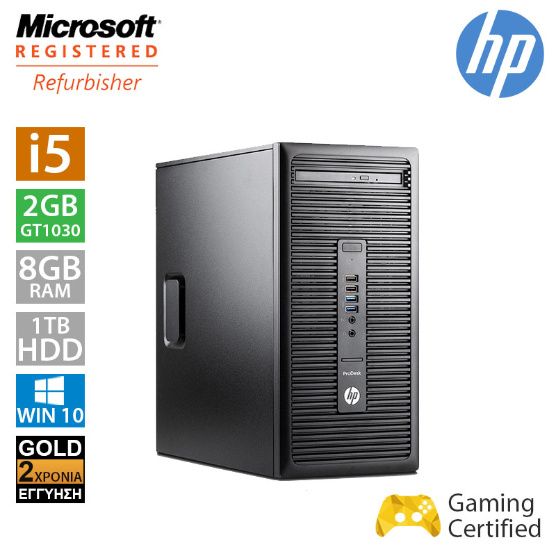 Hp ProDesk 600 G2 Tower (i5 6500/8GB/1TB HDD/GT1030 2GB)