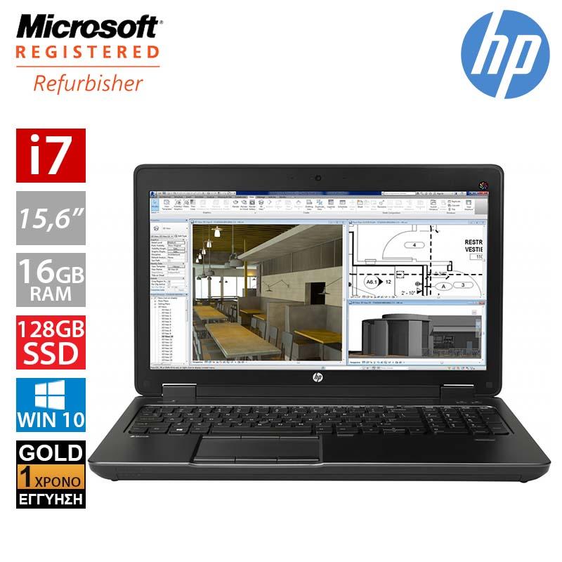 """Hp Zbook 15 G2 15.6"""" (i7 4800MQ/16GB/128 SSD)"""
