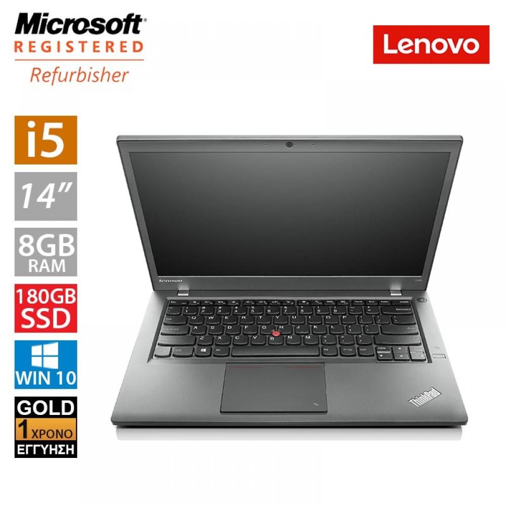"Lenovo ThinkPad T440s 14"" (i5 4300U/8GB/180GB SSD/2x Battery)"