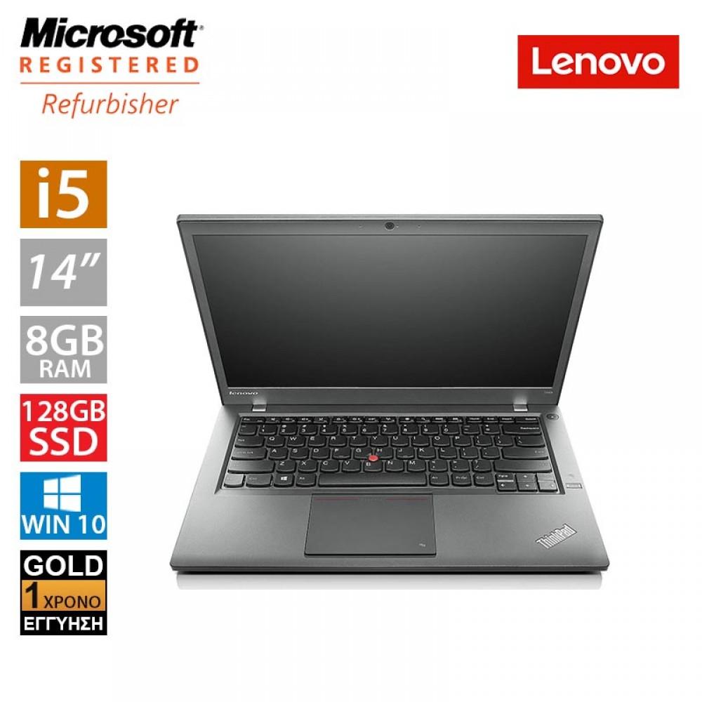 "Lenovo ThinkPad T440 14"" (i5 4300U/8GB/128GB SSD/2x Battery)"