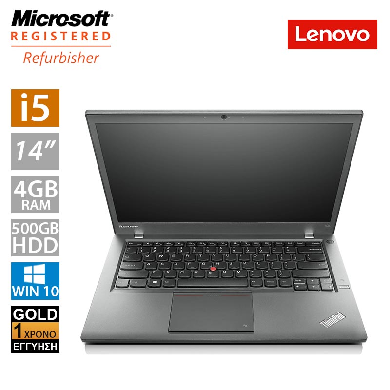 "Lenovo ThinkPad T440s 14"" (i5 4300U/4GB/500GB HDD/2x Battery)"