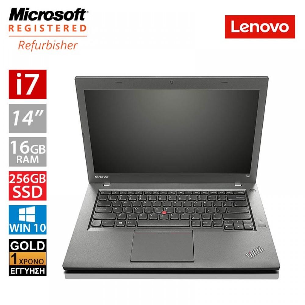 """Lenovo ThinkPad T440p 14"""" (i7 4710MQ/16GB/256GB SSD)"""