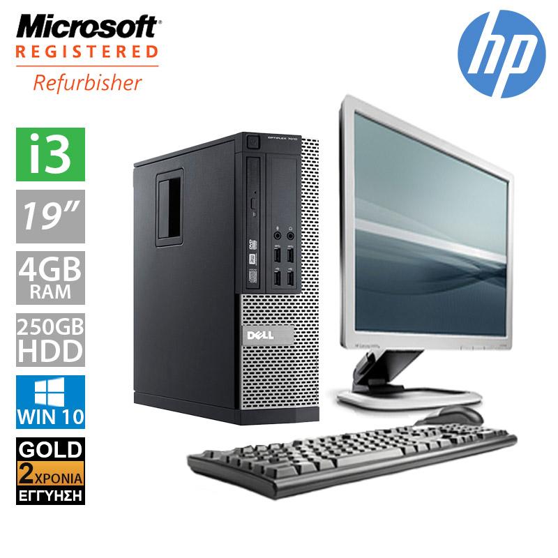 """Dell Optiplex 790 SFF (i3 2100/4GB/250GB HDD/Οθόνη 19"""")"""